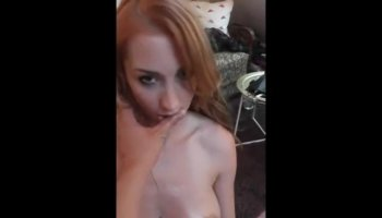 Sexy female with big clitoris pussy & asshole destroyed