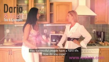 Pretty teen Aletta Ocean is ready for hard action