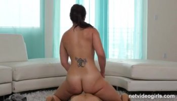 Stripper gets his long and huge male rod gratified