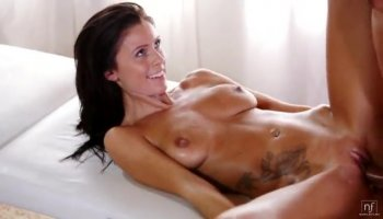 Ugly ass fucks russian whore and rips her stokings
